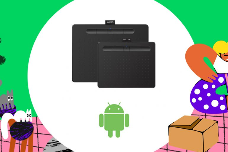 Wacom now #ComesWith Android support