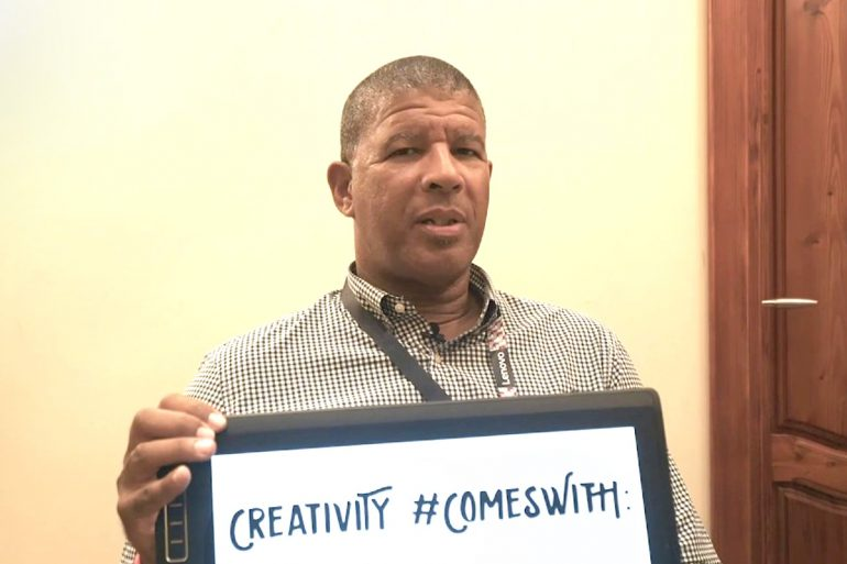 Creativity #ComesWith Peter Ramsey