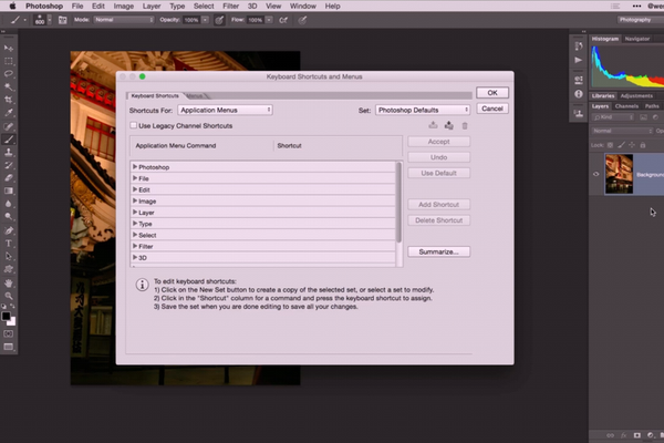 How To Create Custom Keyboard Shortcuts in Photoshop With a Wacom