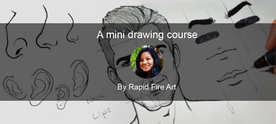 Mini drawing course