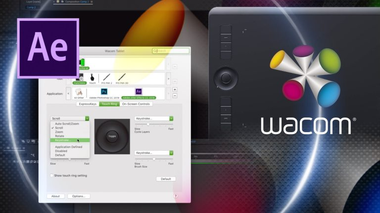 After Effects and Wacom Intuos Pro