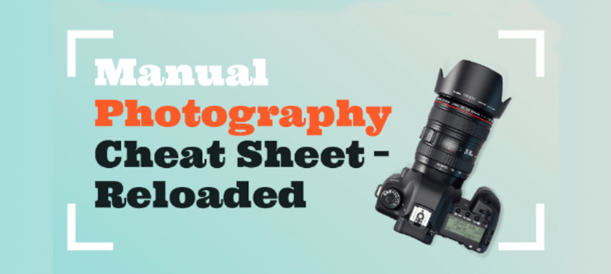 Digital photography cheat sheet