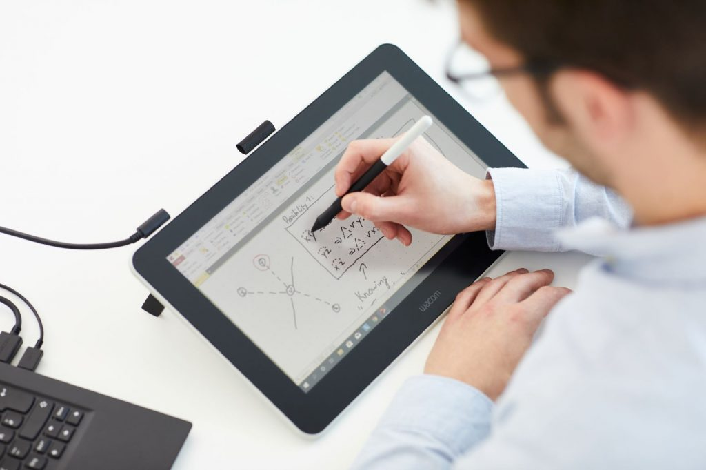 Write on Screen Wacom Tablet